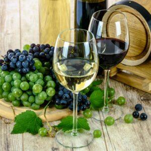 Wein Präsentation
